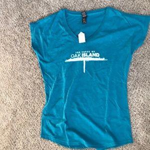 Curse of oak island women's T shirt
